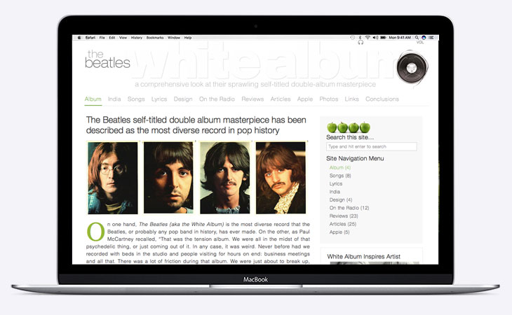 The White Album Project